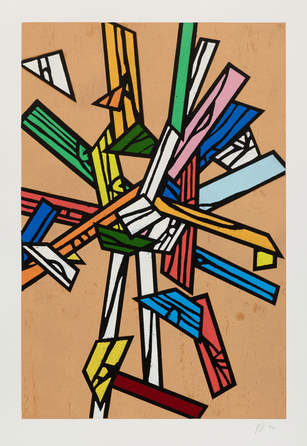 Richard Woods, 'Woodblock Inlay 5', 2011, Cristea Roberts Gallery
