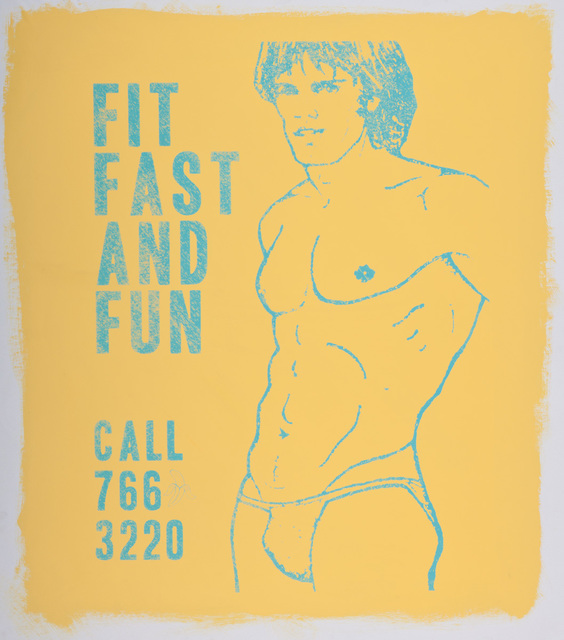, 'Fit Fast and Fun (Yellow),' 2016, Lawrence Alkin Gallery