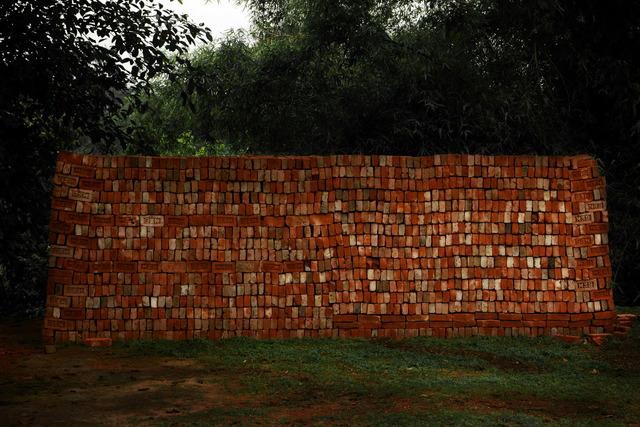 , 'Brick Wall,' , SinArts Gallery