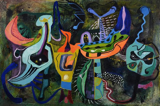 , 'Nocturne aux oiseaux,' 1951, CFA Gallery