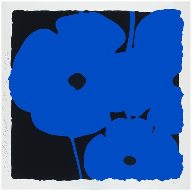 Donald Sultan, 'Big Blue', 2014, Haw Contemporary