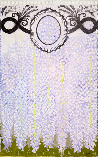 , 'Hanging Gardens (Wisteria I),' 2010, Nancy Hoffman Gallery