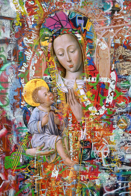 , 'Abstract Saint ,' 2018, 9 Strokes Gallery