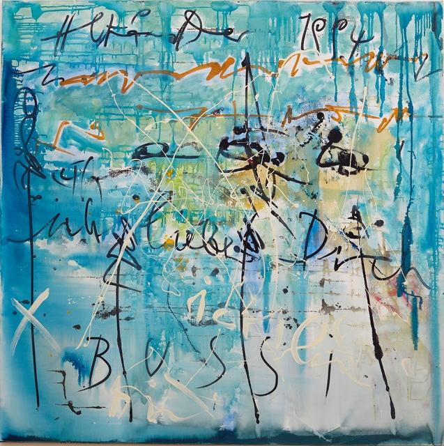 , 'Ich Liebe Dich Bussi,' 1995, Galerie Ernst Hilger