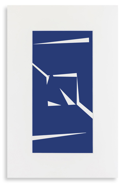 Vera Molnar, 'Fragment A ', 2018, Galerie La Ligne