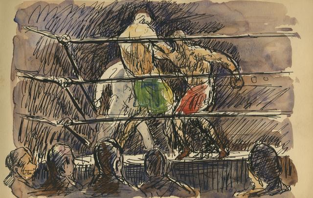 , 'Inside Fighter,' 1929, Anthony's Fine Art