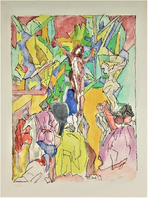 Jacques Villon, 'Golgotha', 1956, Joseph Grossman Fine Art Gallery
