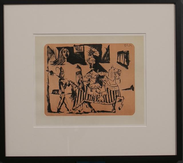 Pablo Picasso, 'DEPARTURE (LE DEPART) 1', 1956, White Cross