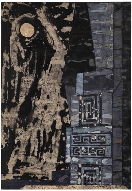 Pino Pascali, 'Bozzetto Scenografico', 1958, Cambi