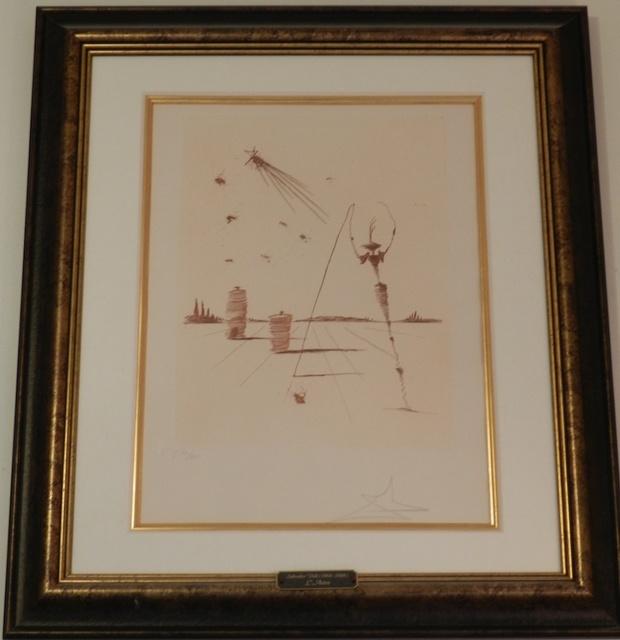 Salvador Dalí, 'L'Astre', 1978, Print, Etching, Fine Art Acquisitions Dali