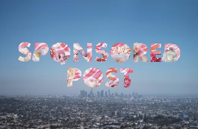 , 'Sponsored Post (Los Angeles),' 2019, Garis & Hahn