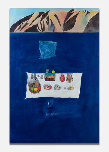 , 'Ocean Picture I,' 2018, Almine Rech