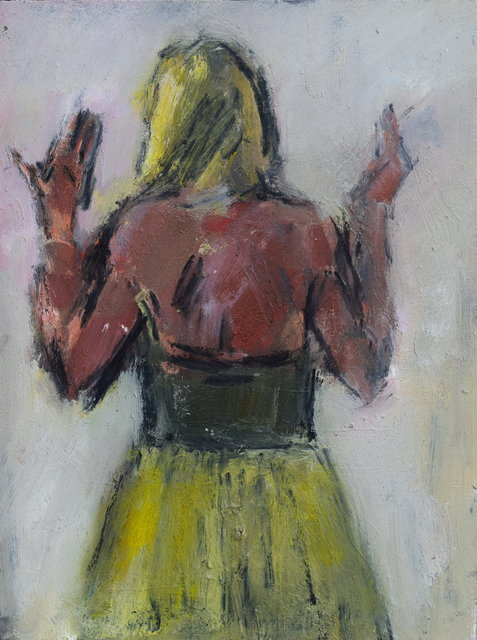 , 'Woman in a Yellow Skirt,' 2015, Gateway Gallery