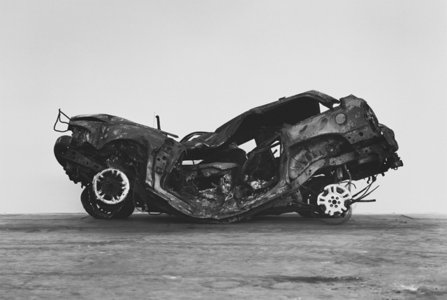 Richard Learoyd, 'Crashed, burned and rolled (1)', 2017, Pace/MacGill Gallery