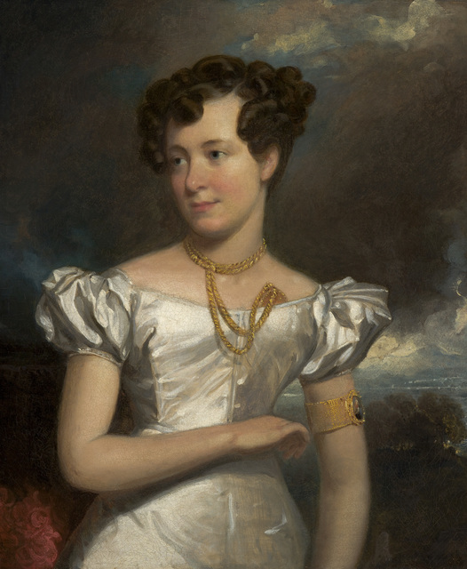 Henry Inman, 'Portrait of Clara Fisher,' 1828, Indianapolis Museum of Art