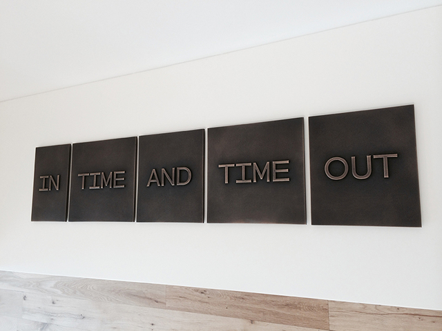 , 'In Time and Time Out,' 2014, Hverfisgallerí