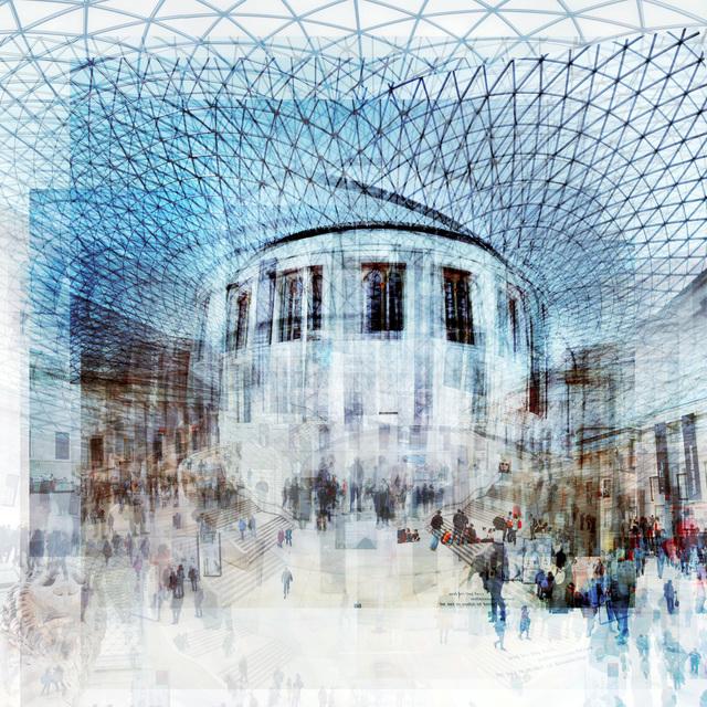 , 'British Museum,' 2018, Petroff Gallery