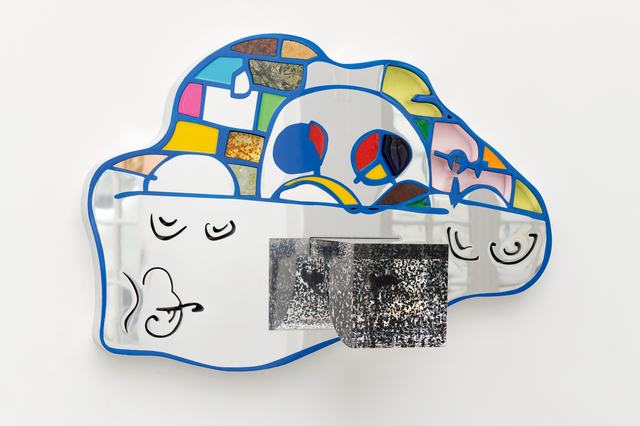 , 'Blue face,' 2017, Galerie Mitterrand