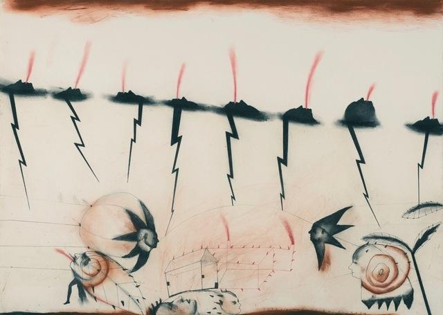 , 'Energia Traducida en Rojo,' 2014, Swerdlow Art Group