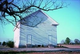 William Christenberry, 'Havana Methodist Church, Havana, Alabama', 1976, Photography, Digital pigment print, Aperture Foundation