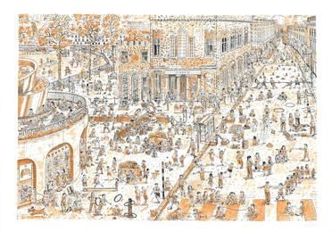 Children's games (updated after Bruegel): Duke of York's Square