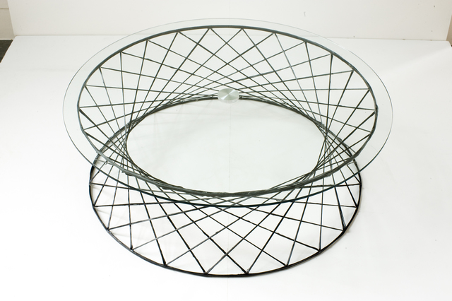 Mathias Bengtsson, 'Spun Table', 2004, Design/Decorative Art, Carbon fiber and glass, Galerie Maria Wettergren