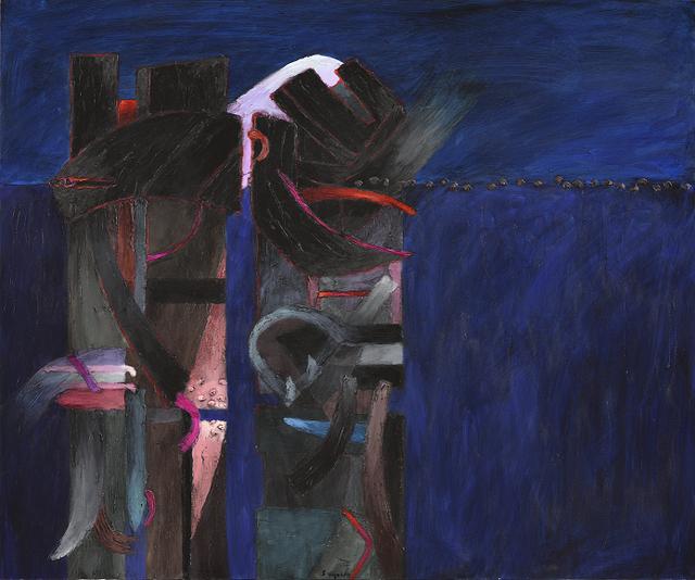 , 'De la Serie Transhumantes,' 2014, Durban Segnini Gallery