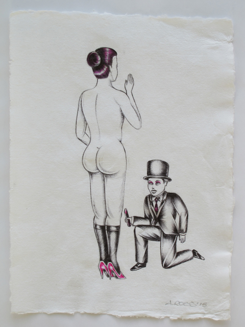 Alexis Ross, 'Toddy the Tushy Tickler ', 2015, V1 Gallery