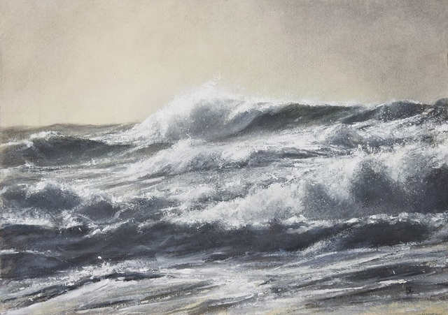 , 'Evening Storm I,' 2017, Beside the Wave