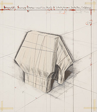 , 'Wrapped Snoopy House,' 2004, Galerie Boisseree