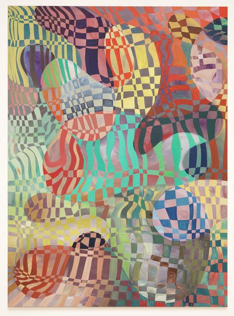 , '¯\_(ツ)_/¯ (TFW you need to title your abstract painting),' 2018, Espace D'art Contemporain 14N 61W
