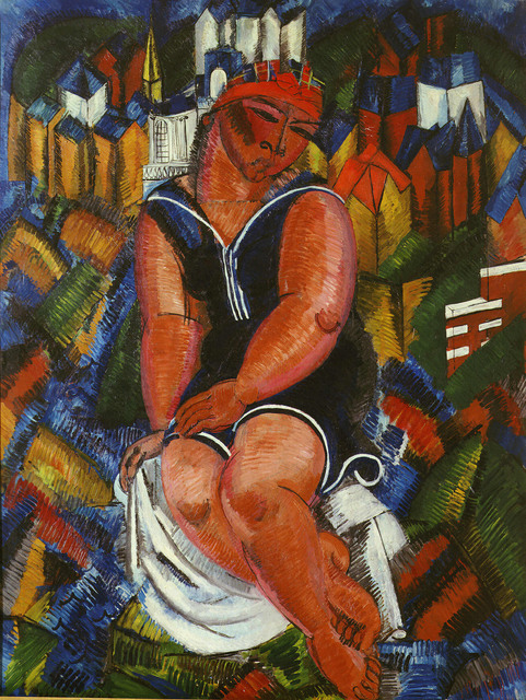 Raoul Dufy, 'Little Bather at Ste. Adresse', 1932-1933, ARS/Art Resource