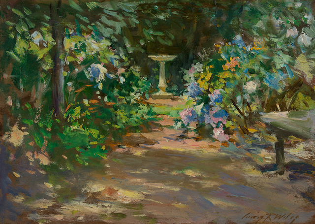 , 'Pathway in the Garden,' , Questroyal Fine Art
