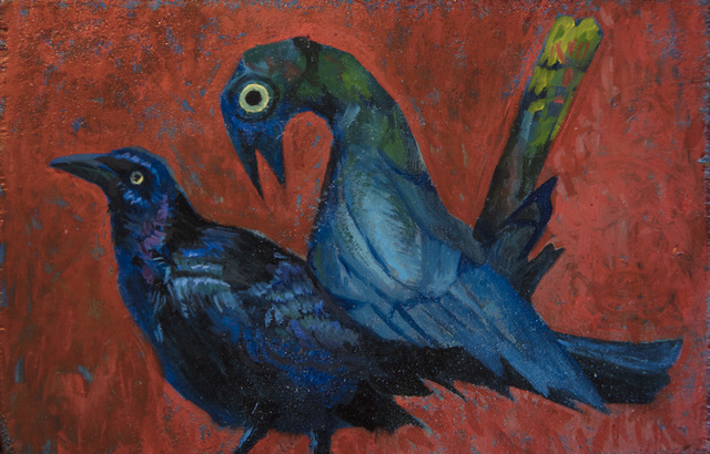 Marc Ross, 'Love Not Burden  (Grackle)', 2017, Ro2 Art