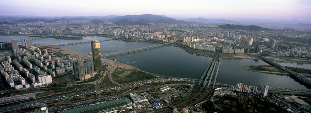 , 'Aerial of Seoul, SOUTH KOREA,' 2007, Hakgojae Gallery