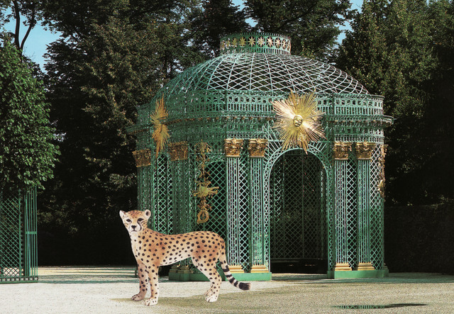 , 'Cheetah and Pavillion at Sans Souci,' 2013, Wilding Cran Gallery