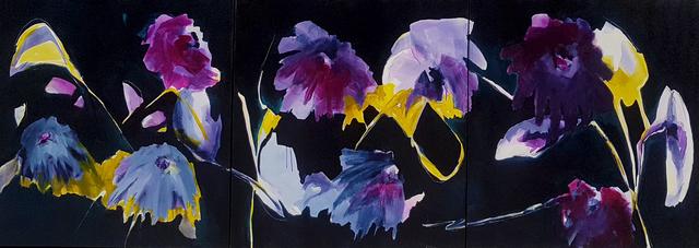 Virginie Bocaert, 'Vitality I,II, III', 2018, Painting, Acrylic on canvas, Thompson Landry Gallery