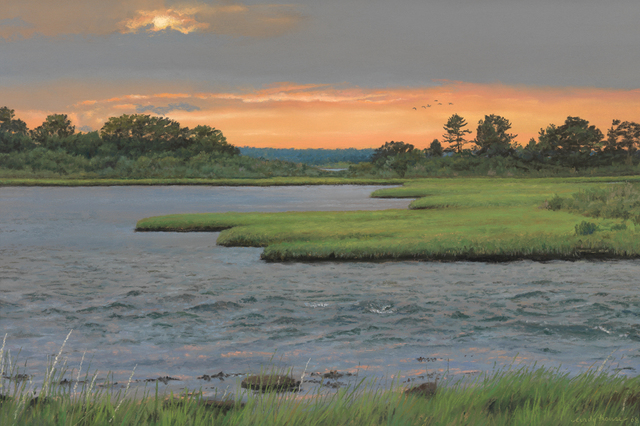 , 'Summer Sunset,' Active Contemporary, The Edgartown Art Gallery, Inc.