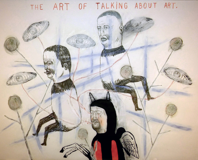 , 'Talking About Art,' 2017, Koplin Del Rio