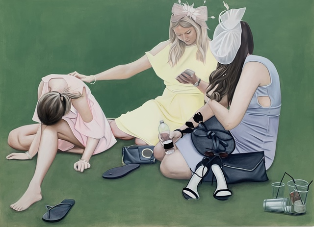 , 'The Three Graces,' 2019, Kristin Hjellegjerde Gallery
