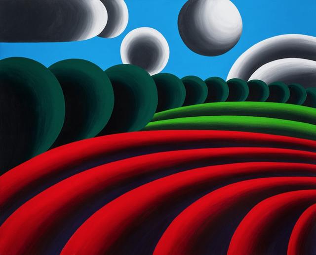 Oleg Khvostov, 'Red Landscape', 2018, Recreational Enterprises & Perseus Gallery