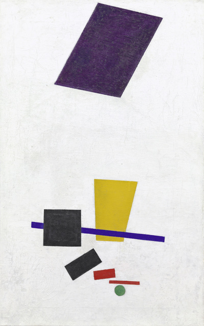 , 'Painterly Realism of a Football Player - Color Masses in the Fourth Dimension,' 1915, Fondation Beyeler