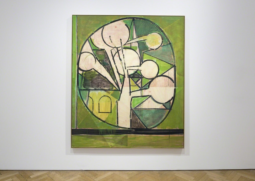 Matthew Burrows, Green Tree, 2015