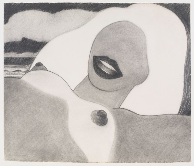 , 'Drawing for Great American Nude #73,' 1965, Gagosian