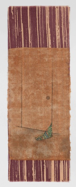 Yamaguchi Ai, 'haru e', 2020, Painting, Japanese paper, cloth, sumi ink, acrylic, Mizuma Art Gallery