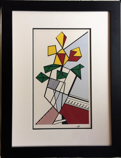 Roy Lichtenstein, 'Flowers', 1973, Print, Screenprint on wove paper, artrepublic