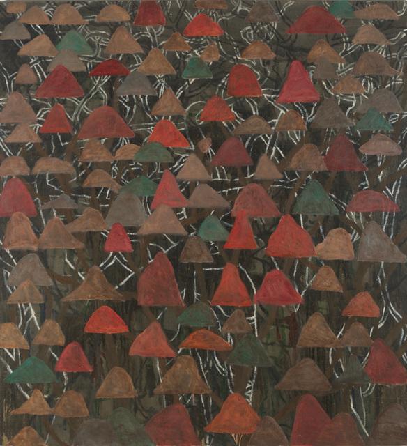John Peart, 'Tree hills', ca. 1989-2013, Painting, Oil & acrylic on canvas, King Street Gallery on William