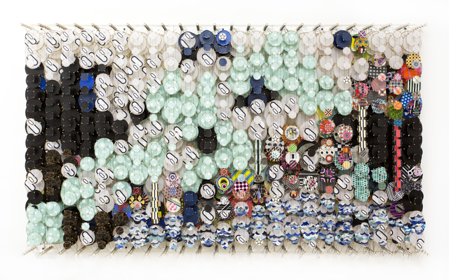 , 'Collapsing Symmetries and the Hopeless Flaw of Itself,' 2018, Galerie Forsblom