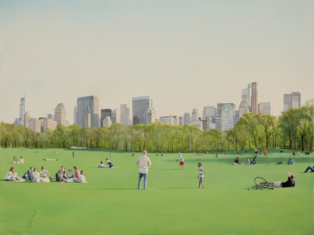 , 'Afternoon in the Park,' 2018, 303 Gallery