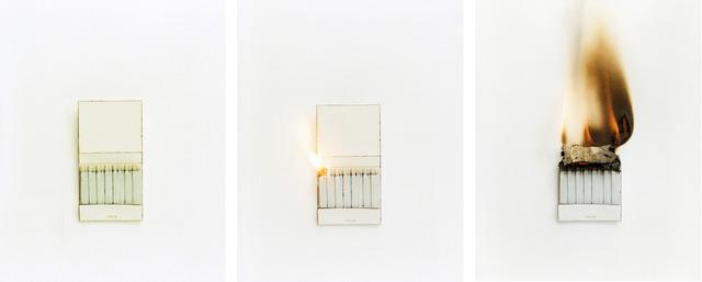 Cynthia Greig, 'Representation #16-18 (matchbook)', 2009, Clark Gallery